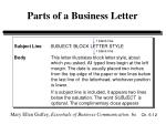 parts of a business letter12