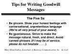 tips for writing goodwill messages27