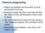 personal care grooming