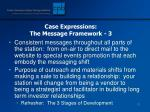 case expressions the message framework 3