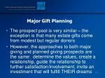 major gift planning172