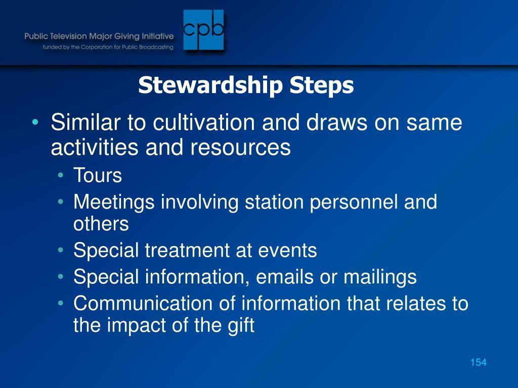 Stewardship Steps