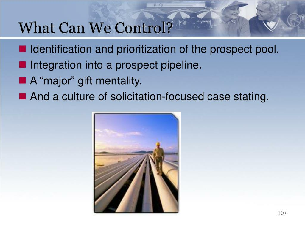 What Can We Control?