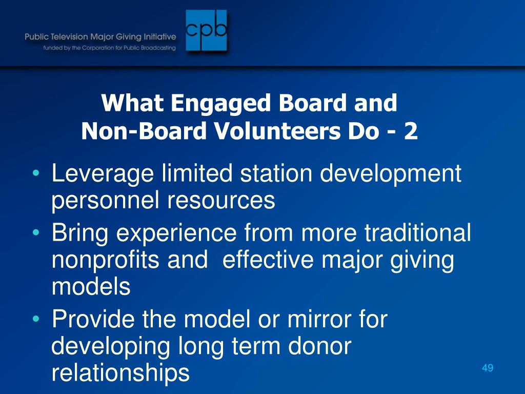 What Engaged Board and