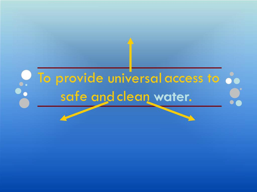 To provide              access to             and