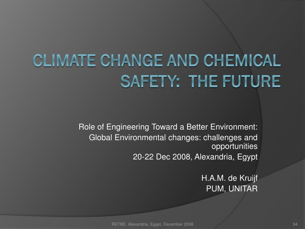 Role of Engineering Toward a Better Environment: