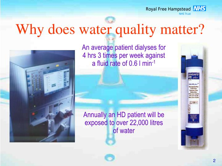 Why does water quality matter