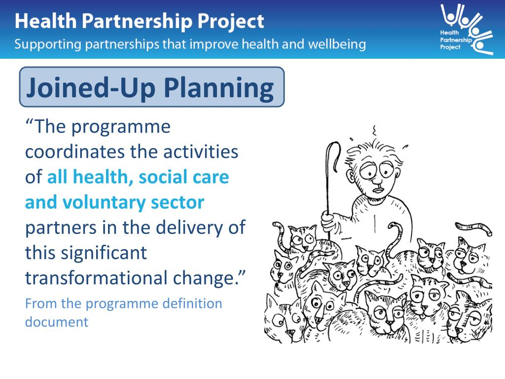 Joined-Up Planning