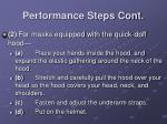 performance steps cont14