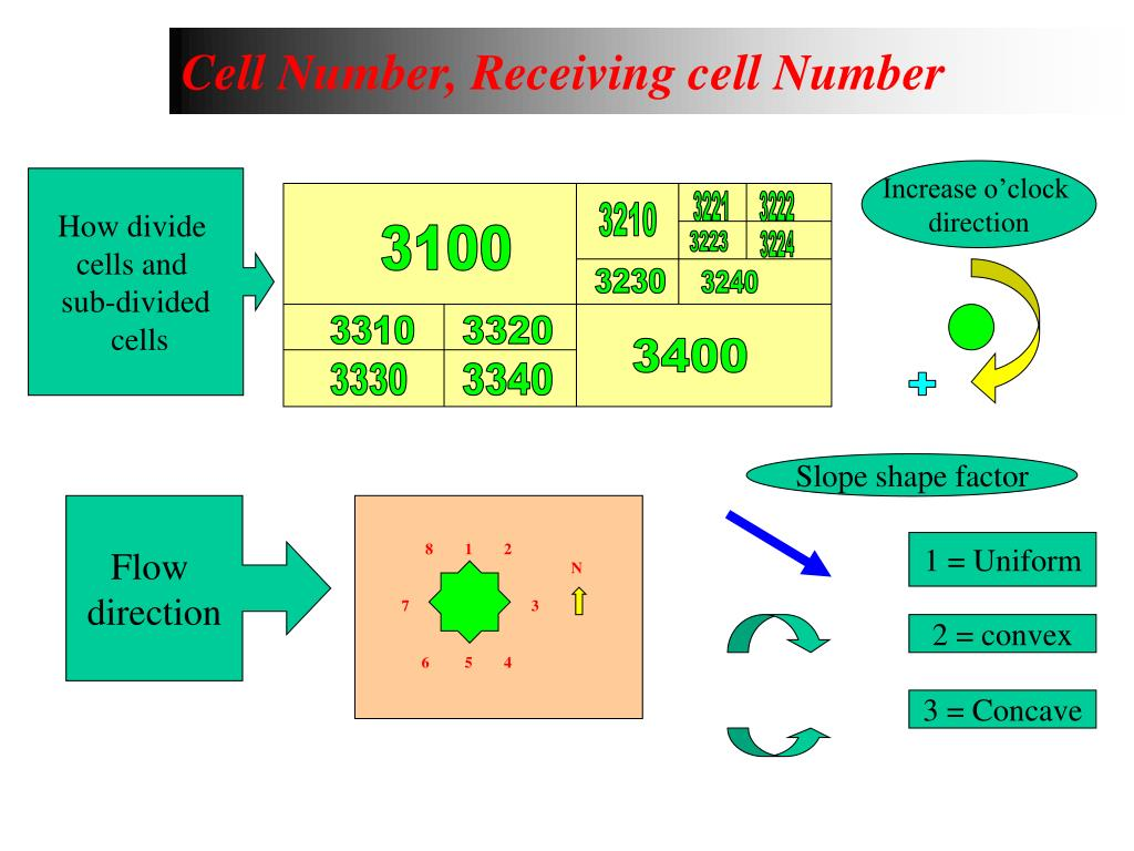 Cell Number, Receiving cell Number