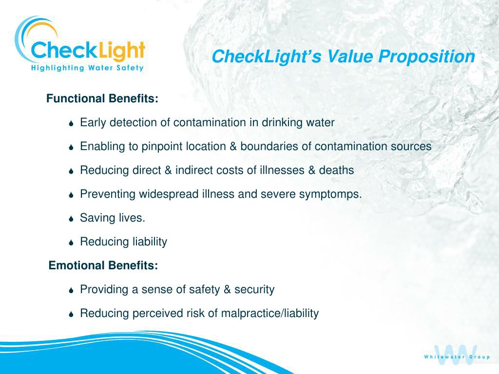 CheckLight's Value Proposition