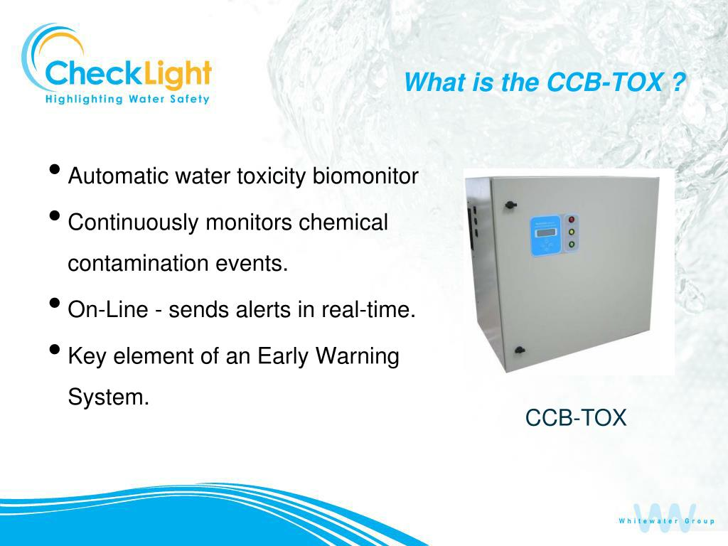 What is the CCB-TOX ?