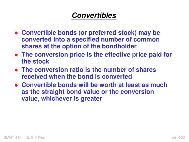 Convertibles