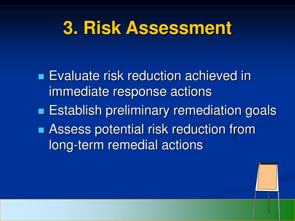 3. Risk Assessment