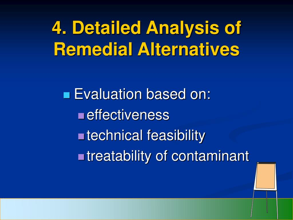 4. Detailed Analysis of Remedial Alternatives
