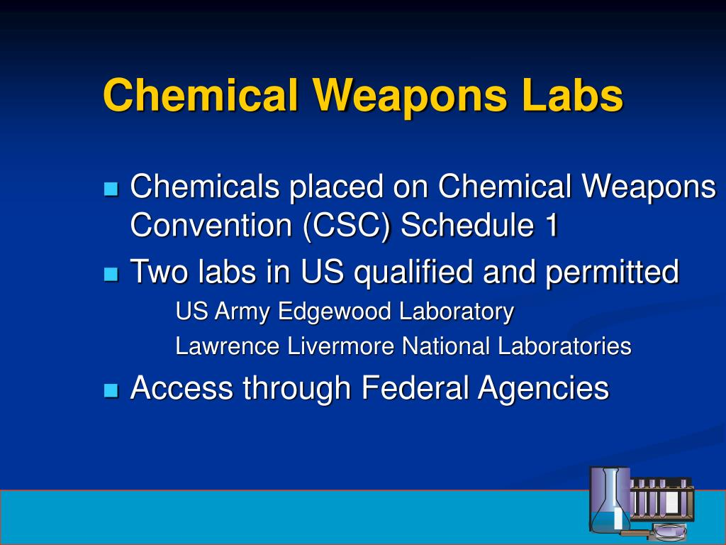 Chemical Weapons Labs