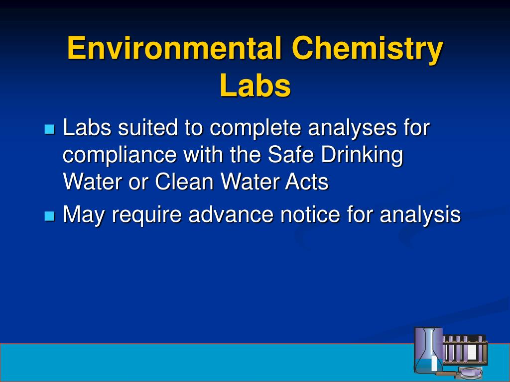 Environmental Chemistry Labs