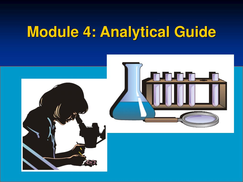 Module 4: Analytical Guide
