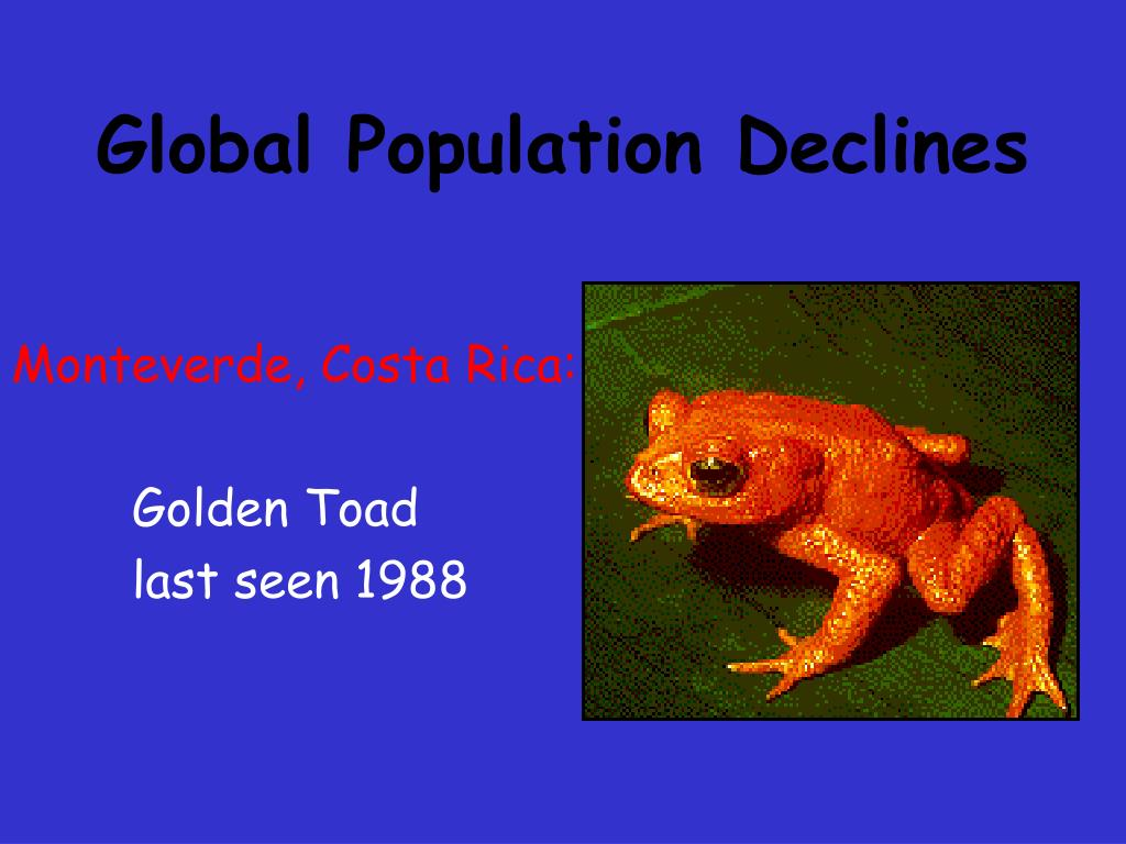 Global Population Declines