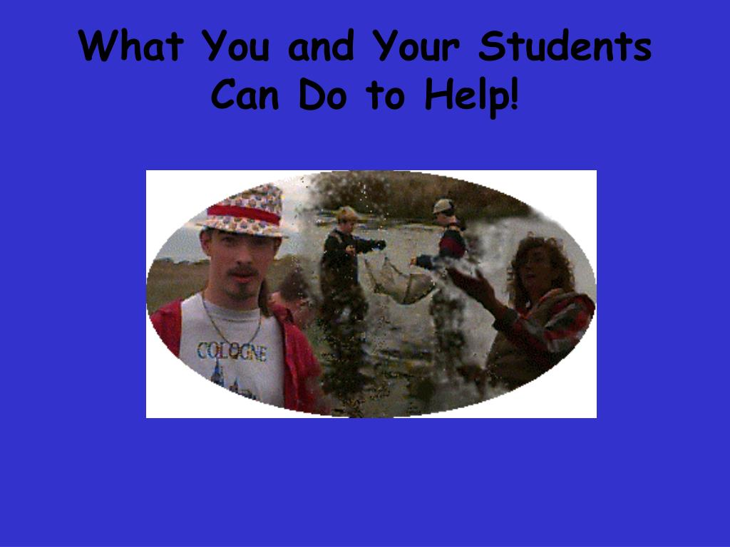 What You and Your Students