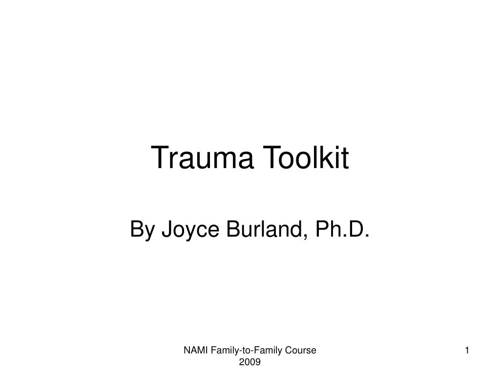 Trauma Toolkit