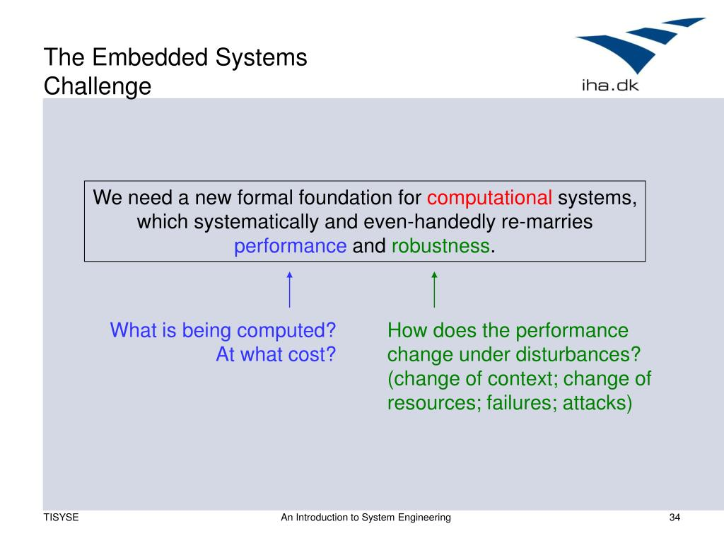 The Embedded Systems