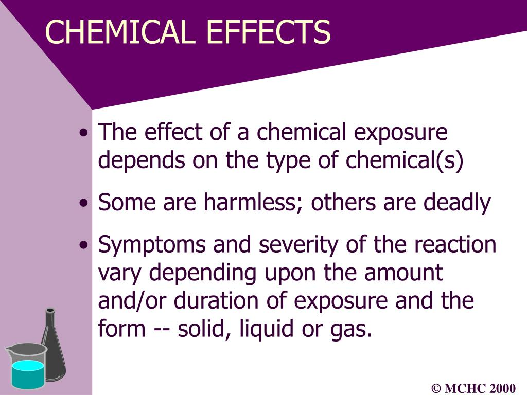 CHEMICAL EFFECTS