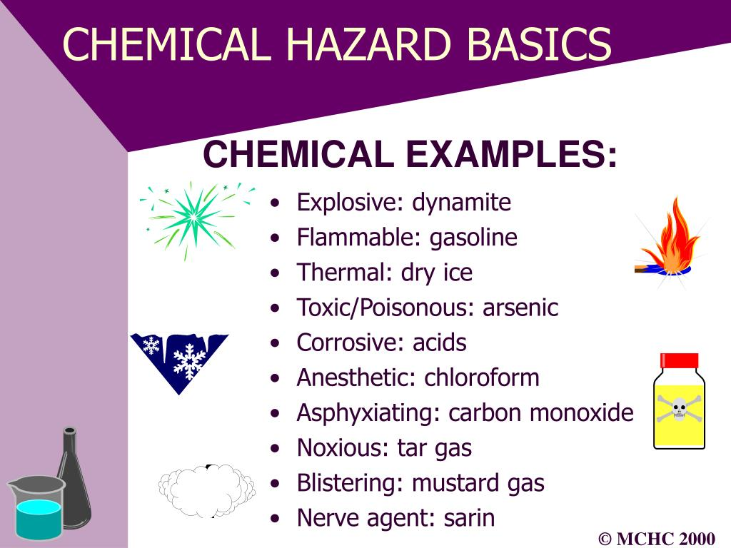 CHEMICAL HAZARD BASICS