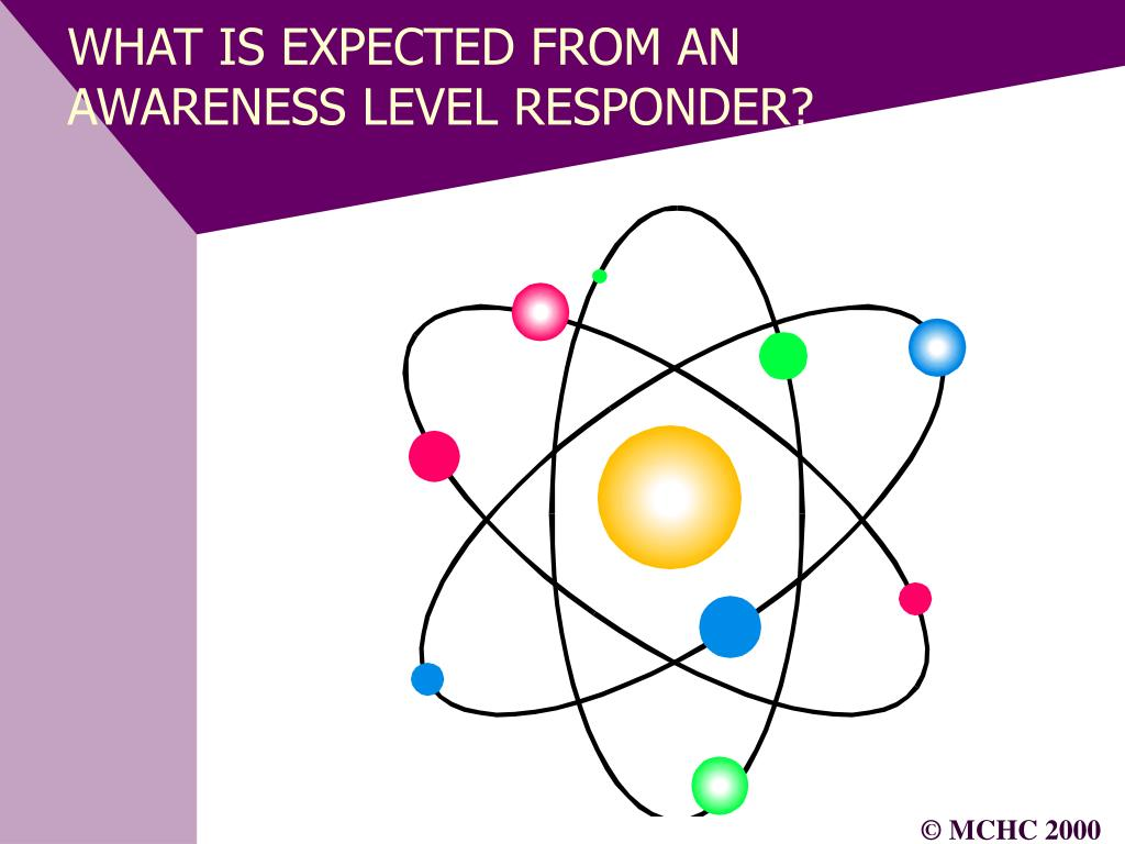WHAT IS EXPECTED FROM AN AWARENESS LEVEL RESPONDER?