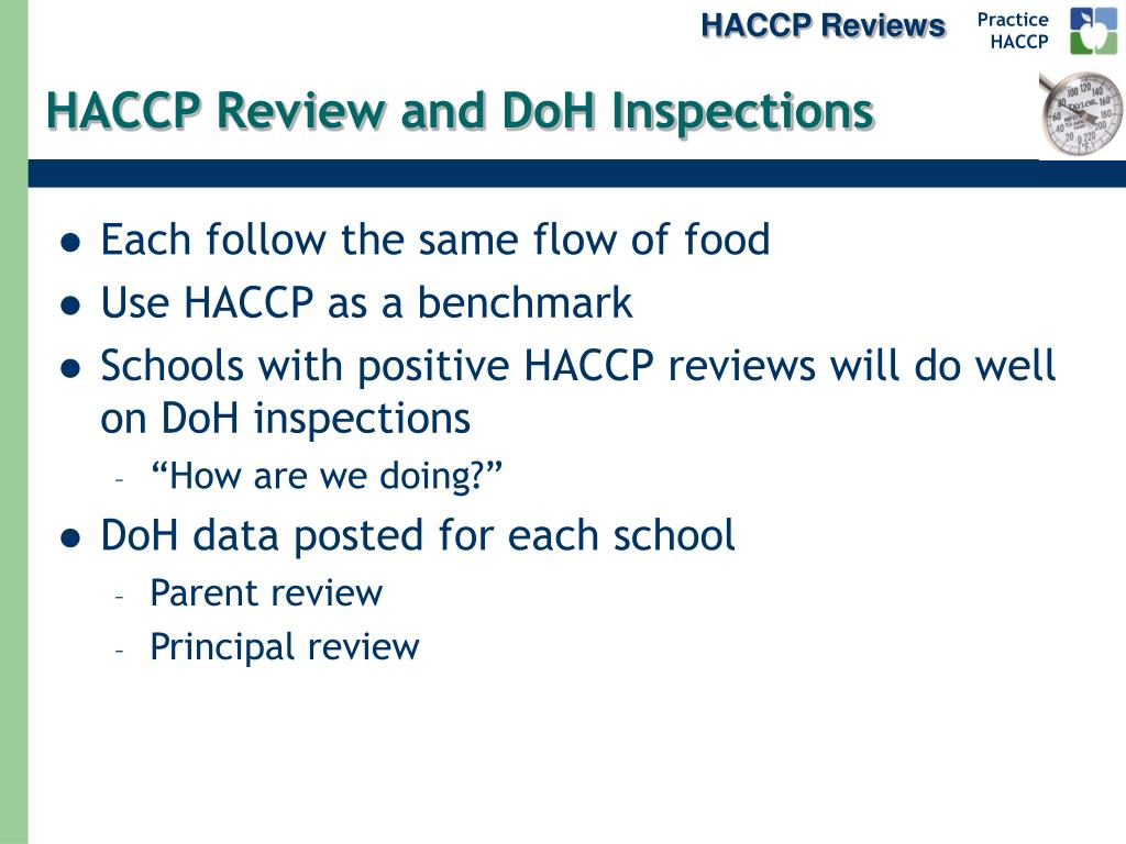 HACCP Reviews