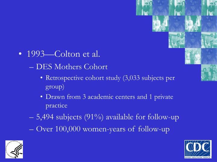 1993—Colton et al.