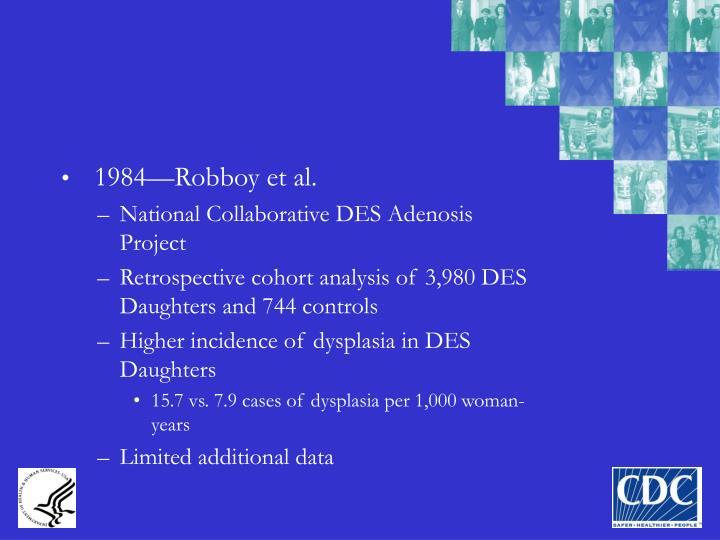 1984—Robboy et al.
