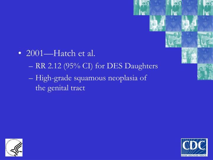 2001—Hatch et al.