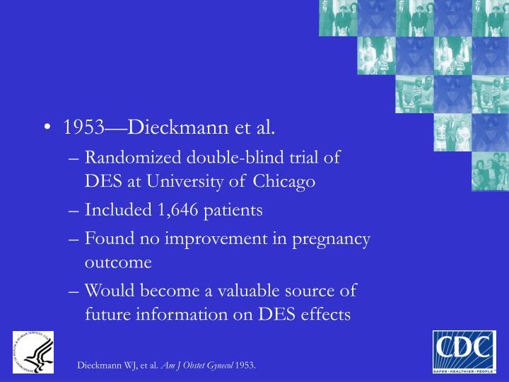1953—Dieckmann et al.