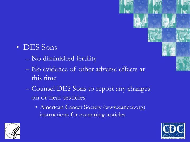 DES Sons