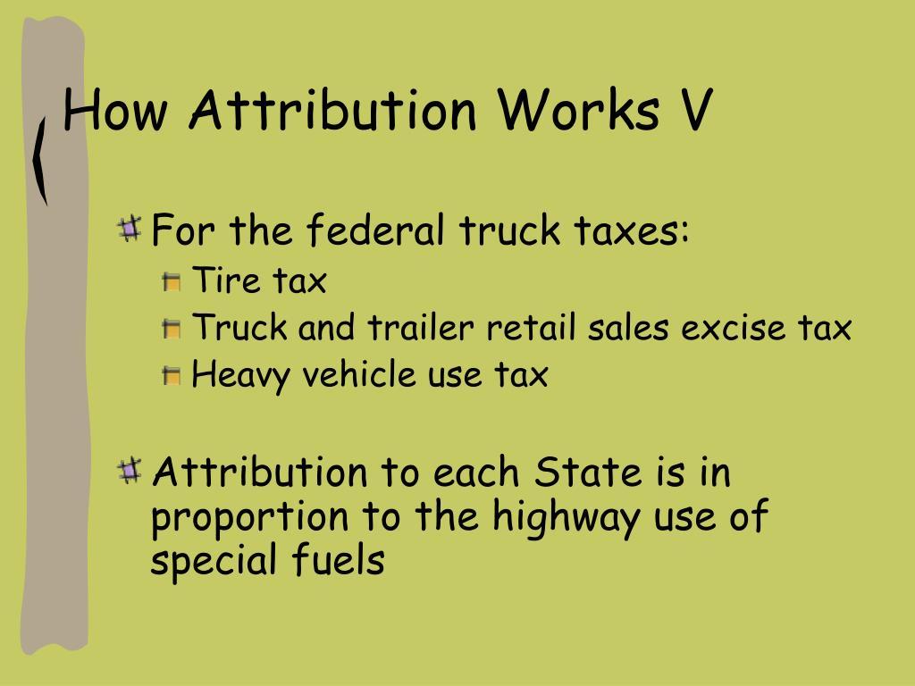 How Attribution Works V
