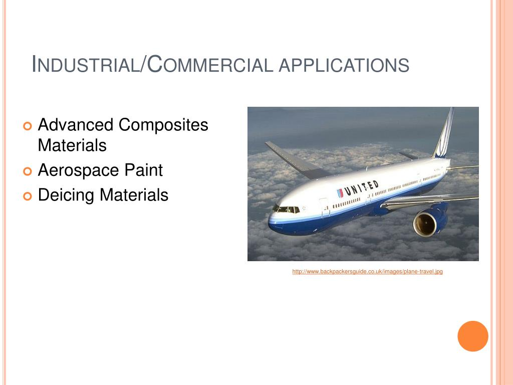 Industrial/Commercial applications
