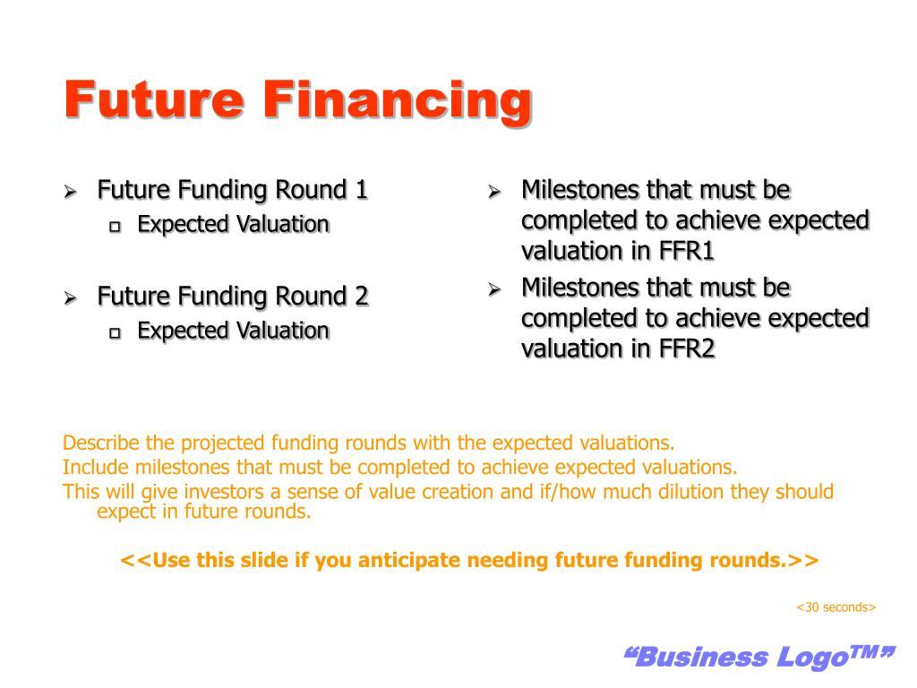 Future Financing