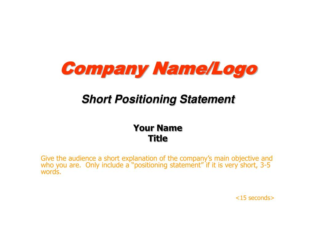Company Name/Logo