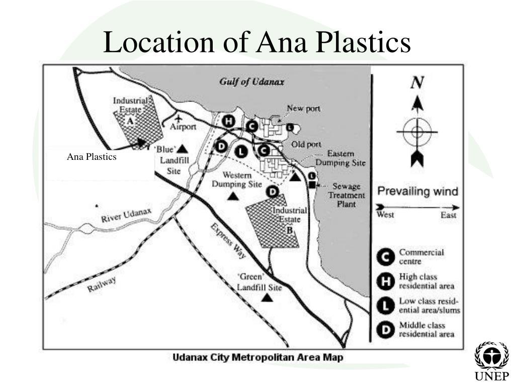 Location of Ana Plastics