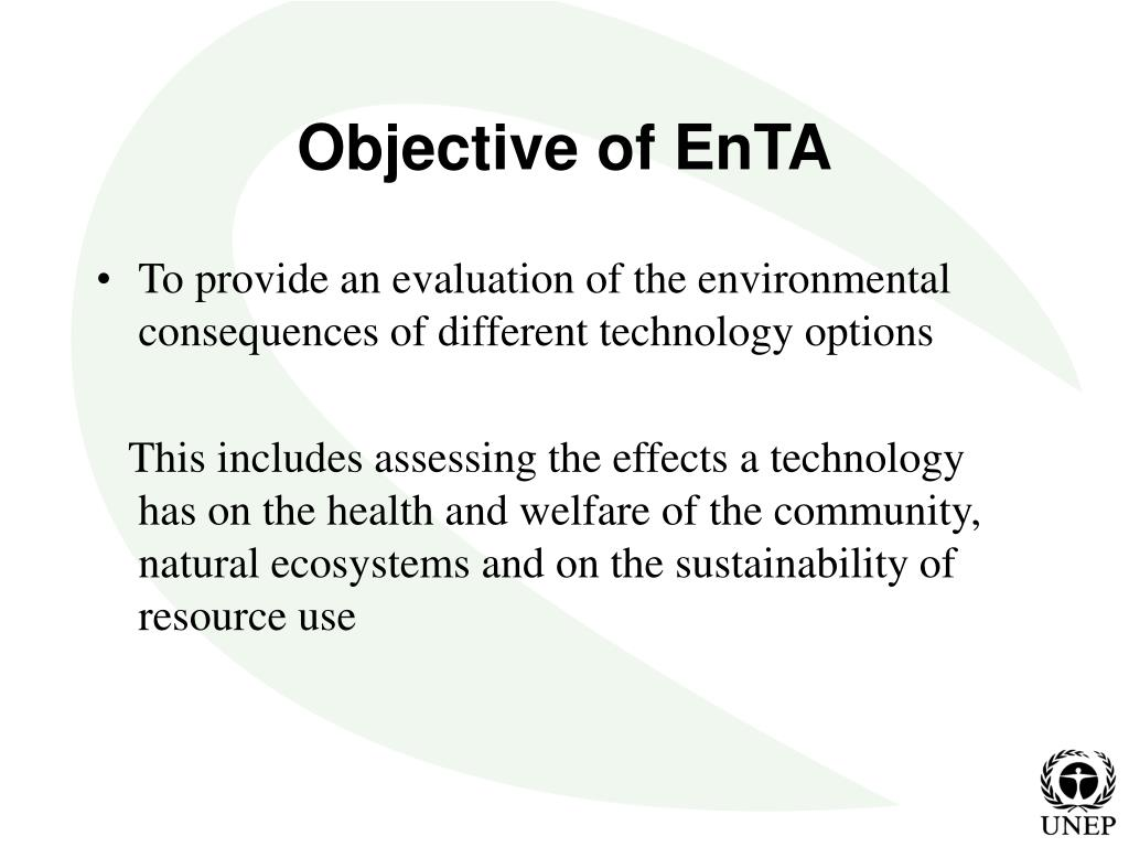 Objective of EnTA