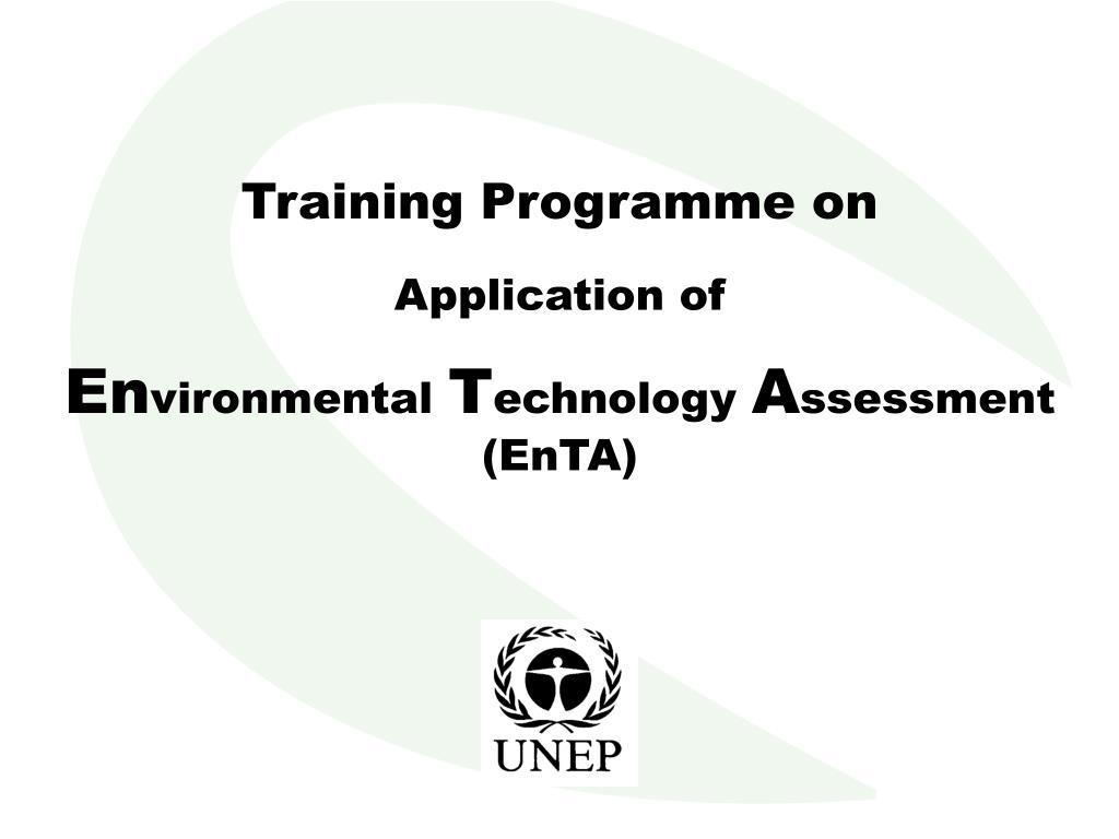 Training Programme on