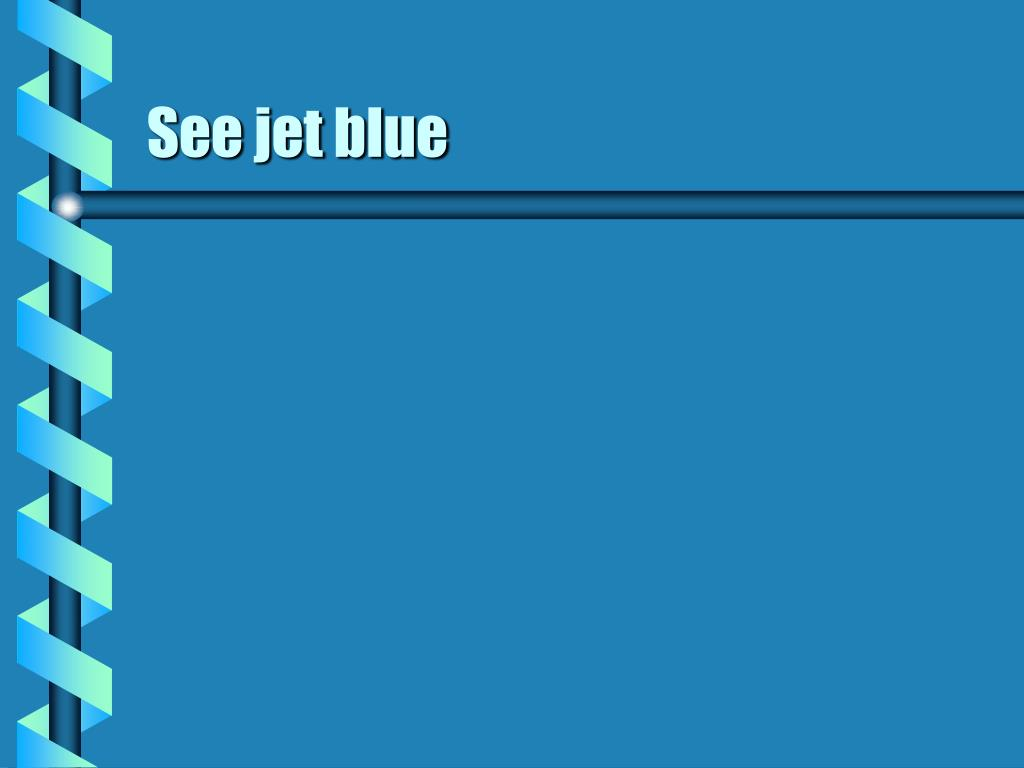See jet blue