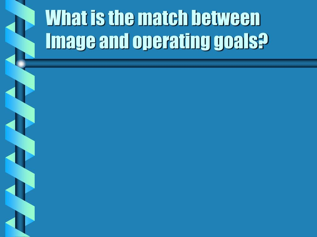What is the match between