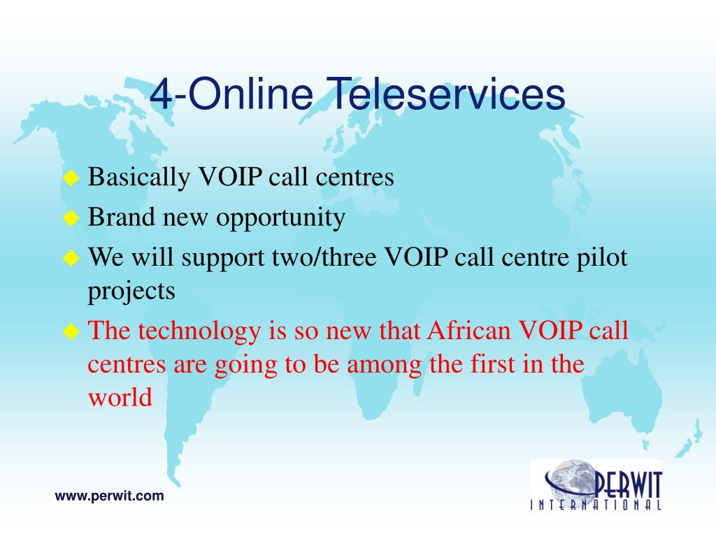 4-Online Teleservices
