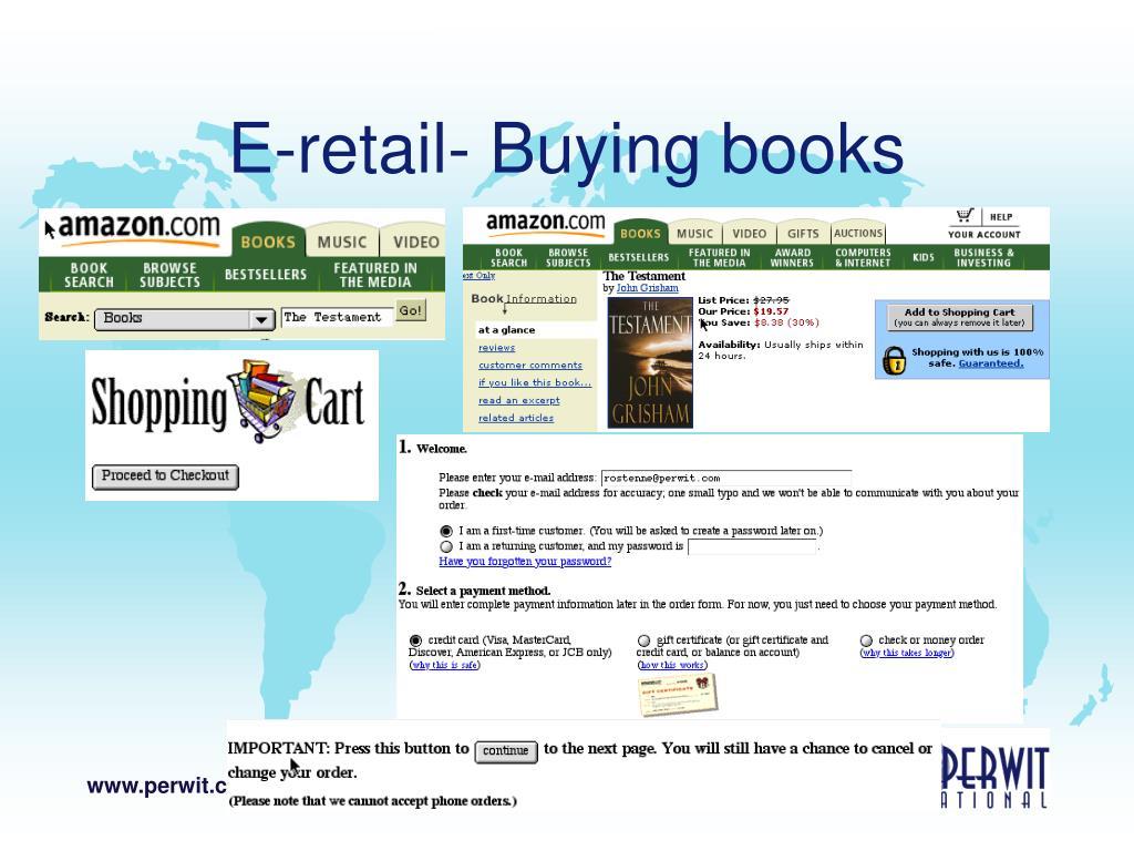 E-retail- Buying books