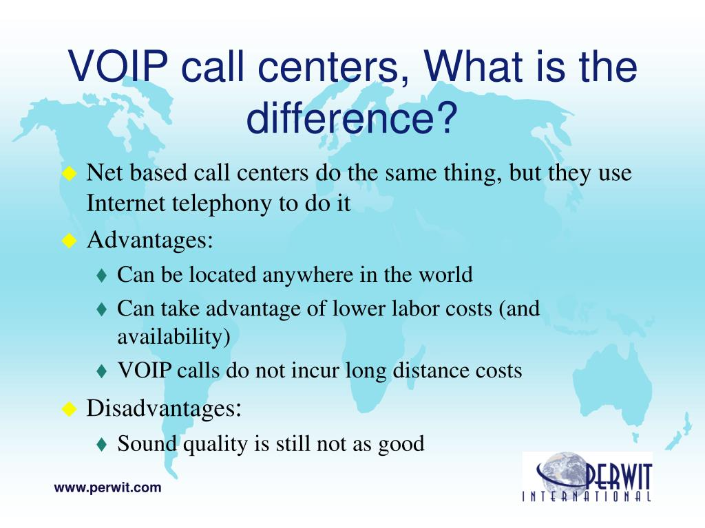 VOIP call centers, What is the difference?
