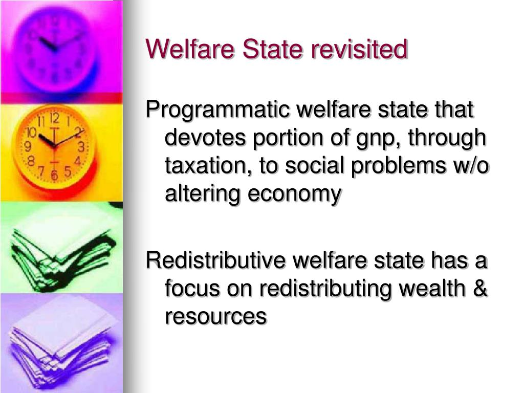 Welfare State revisited