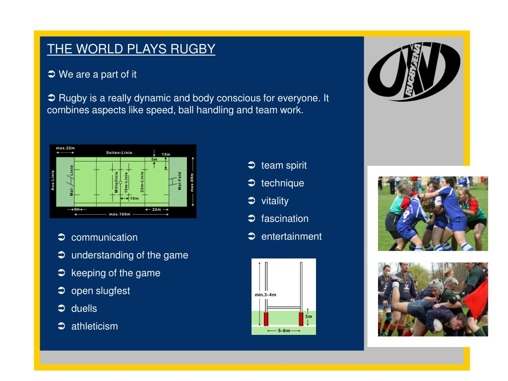 THE WORLD PLAYS RUGBY