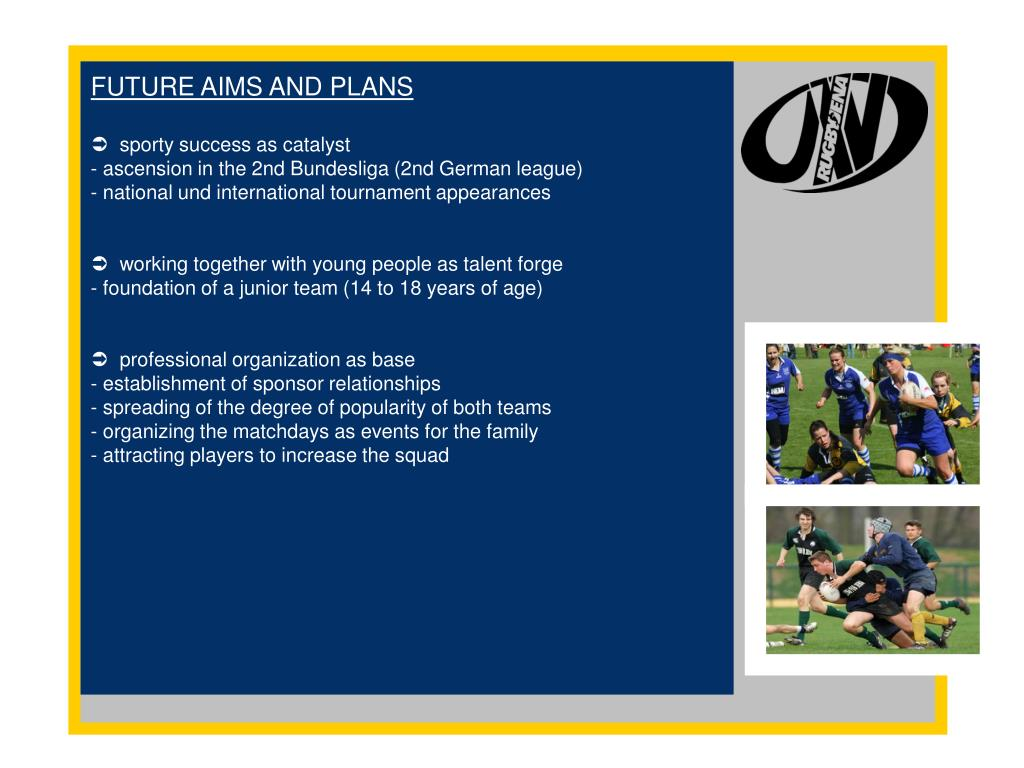 FUTURE AIMS AND PLANS